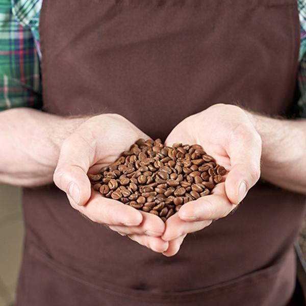 kawa w ziarnach